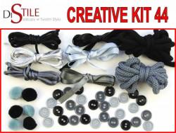 Srebrna Noc - Zestaw Kreatywny 44 elementy
