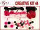 Odblask Nocą - Zestaw Kreatywny 44 elementy