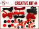Chiński Smok - Zestaw Kreatywny 44 elementy
