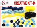 Grecka Wyspa - Zestaw Kreatywny 44 elementy