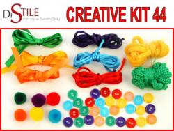 Tęcza kolorów - Zestaw Kreatywny 44 elementy