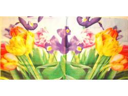 Serwetki Decoupage - Tulipany i Irysy