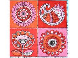 Serwetki Decoupage - Ludowe Wzory