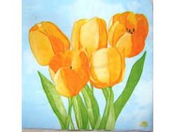 Serwetki Decoupage - Żółte Tulipany