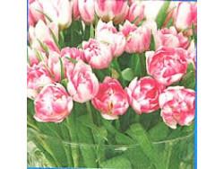 Serwetki Decoupage - Wazon Pełen Tulipanów