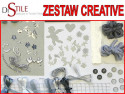 Srebrny Ślub - Zestaw Kreatywny