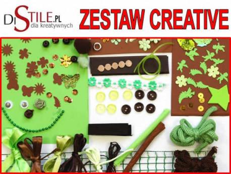 Czekolada i Pistacja - Zestaw Kreatywny