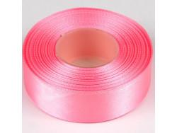 Wstążka satynowa 25mm - różowa