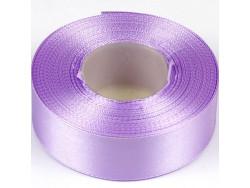 Wstążka satynowa 25mm - fioletowa jasna
