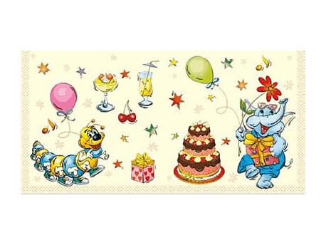 Serwetki Decoupage - Urodzinowe Party
