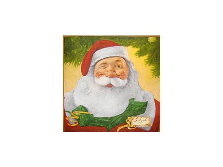 Serwetki Decoupage - Święty Mikołaj