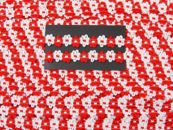 Tasiemka FIORE czerwony