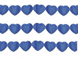 Aplikacje serca 15mm - chabrowe