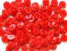 Guziki RETRO czerwone - 2 dziurki