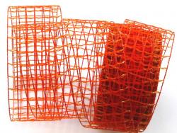 SIATKA ciemnopomarańczowa