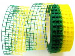 SIATKA zielono-żółta