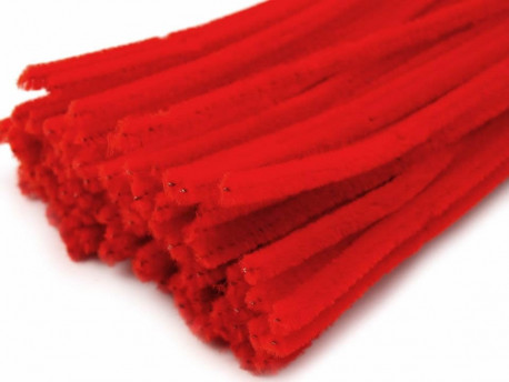 Druty Kreatywne - Wyciory Czerwony