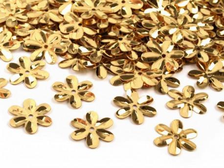 Cekiny - Kwiatki Złote