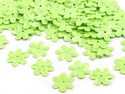 Cekiny - Kwiatki Jasnozielone