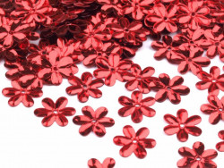 Cekiny - Kwiatki Czerwone