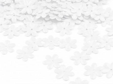 Cekiny - Kwiatki Białe