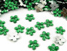 Kwiatki Akrylowe 12mm Ciemny Zielony