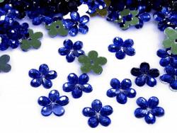 Kwiatki Akrylowe 12mm Chabrowe