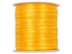 Wstążka satynowa 3mm - żółta