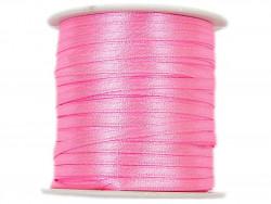 Wstążka satynowa 3mm - różowa jasna