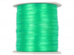 Wstążka satynowa 3mm - zielona miętowa
