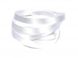 Wstążka satynowa 20mm - biała