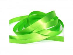 Wstążka satynowa 20mm - zielona jasna