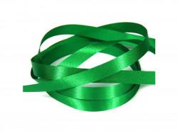 Wstążka satynowa 20mm - zielona