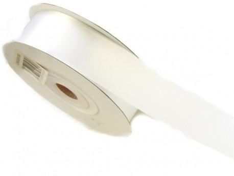 Wstążka satynowa 30mm - biała