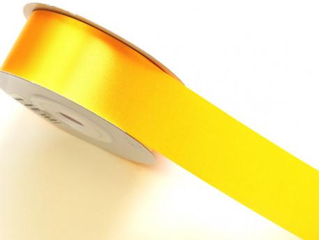 Wstążka satynowa 30mm - żółta