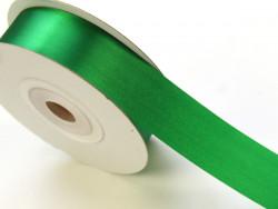 Wstążka satynowa 30mm - zielona