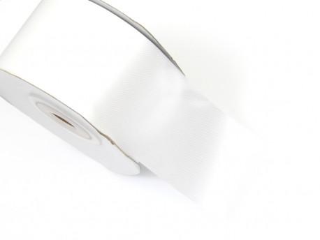 Wstążka satynowa 40mm - biała
