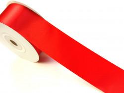 Wstążka satynowa 40mm - czerwona