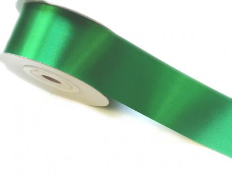 Wstążka satynowa 40mm - zielona