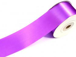 Wstążka satynowa 60mm - fioletowa