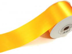 Wstążka satynowa 100mm - żółta