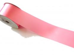 Wstążka satynowa 100mm różowa
