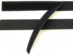 Rzep 20mm czarny 1m
