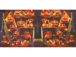Serwetki Decoupage - Halloween dynie