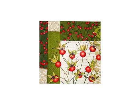 Serwetki Decoupage - Dzika róża