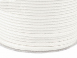 Sznurek poliestrowy 5mm - biały