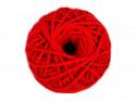 Sznurek bawełniany 3mm czerwony