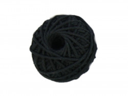 Sznurek bawełniany 3mm czarny