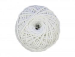 Sznurek bawełniany 3mm biały 50m