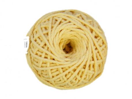 Sznurek bawełniany 3mm kremowy